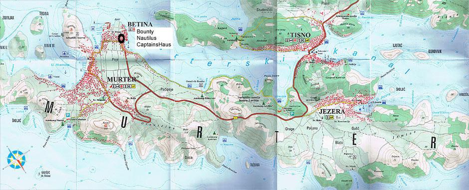 Kroatien - Insel Murter