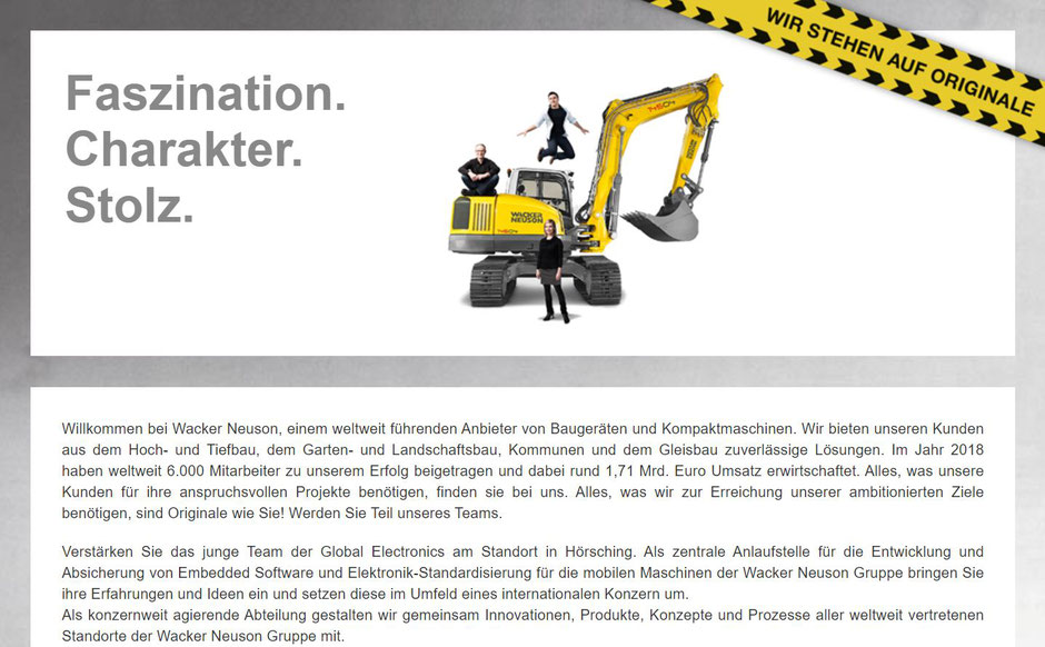 Software Developer Jobs - Softwaretester- Wacker Neuson - Linz - Oberösterreich - 1