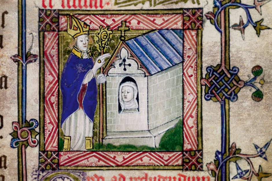 Murada en una miniatura de un códice medieval. S.XIV.