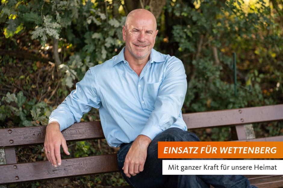 Andreas Heuser - Bürgermeisterkandidat für Wettenberg