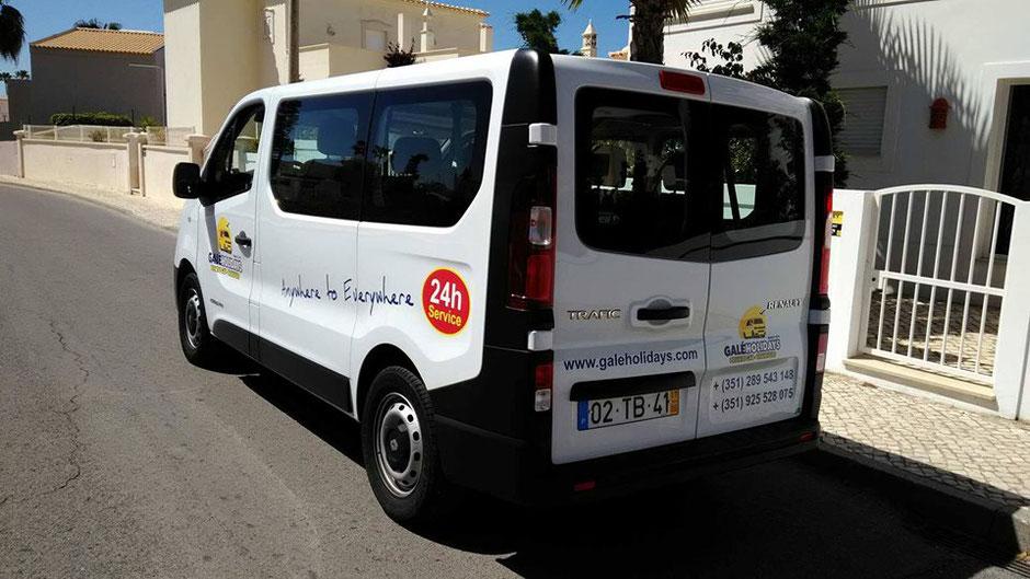 Galé Holidays Transfers in Galé,Albufeira,Algarve,Portugal perfekt für Ausflüge an der Algarve mit Familien oder Privat.