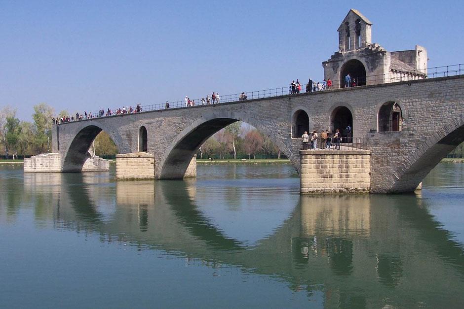 Pont St. Bénézet (Pont d´Avignon)