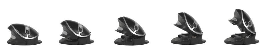 Souris verticale Oyster Mouse sans fil