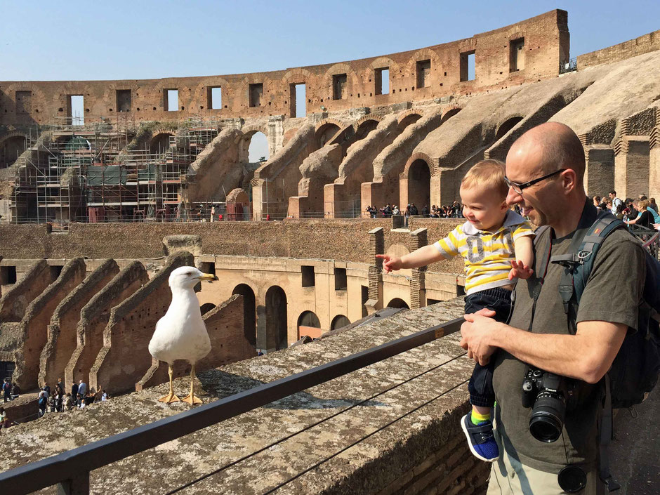 Colosseum Rome with Baby or Toddler