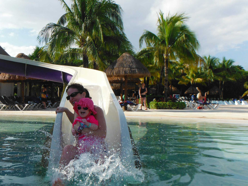 Babymoon in Mexico with a toddler
