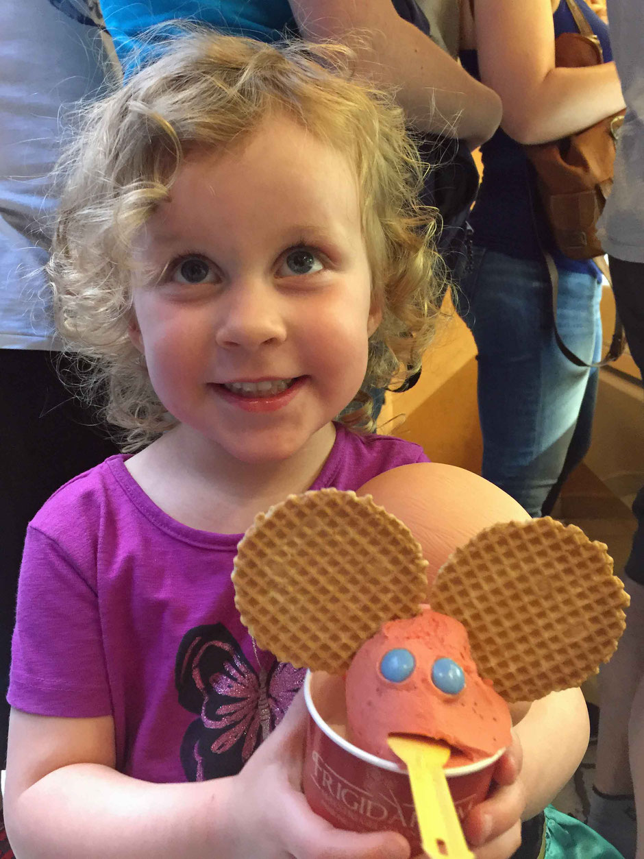 Gelato in Rome Italy Travel With Children