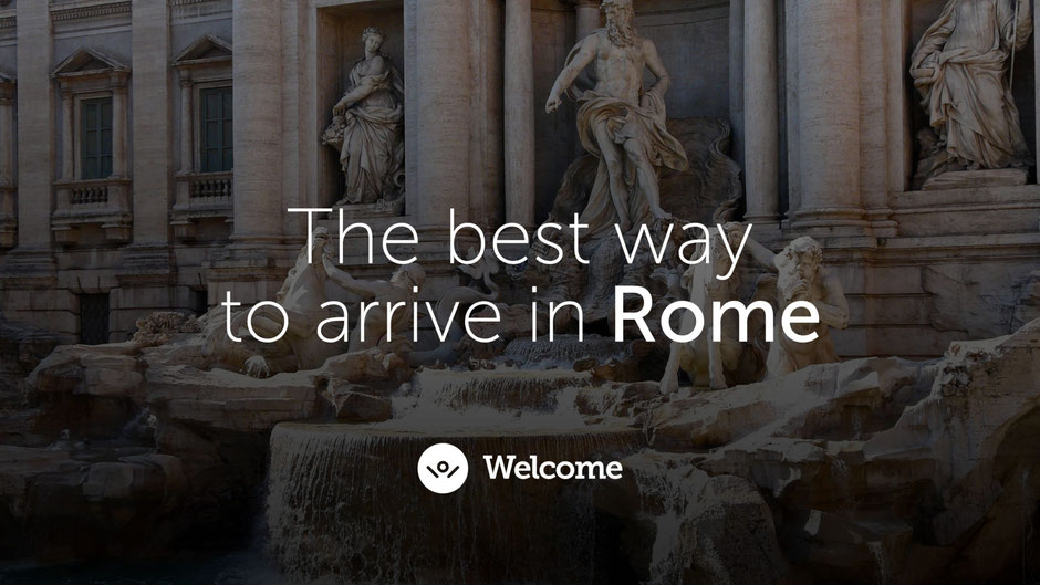 Baby-friendly airport transfer in Rome - FCO to Hotel