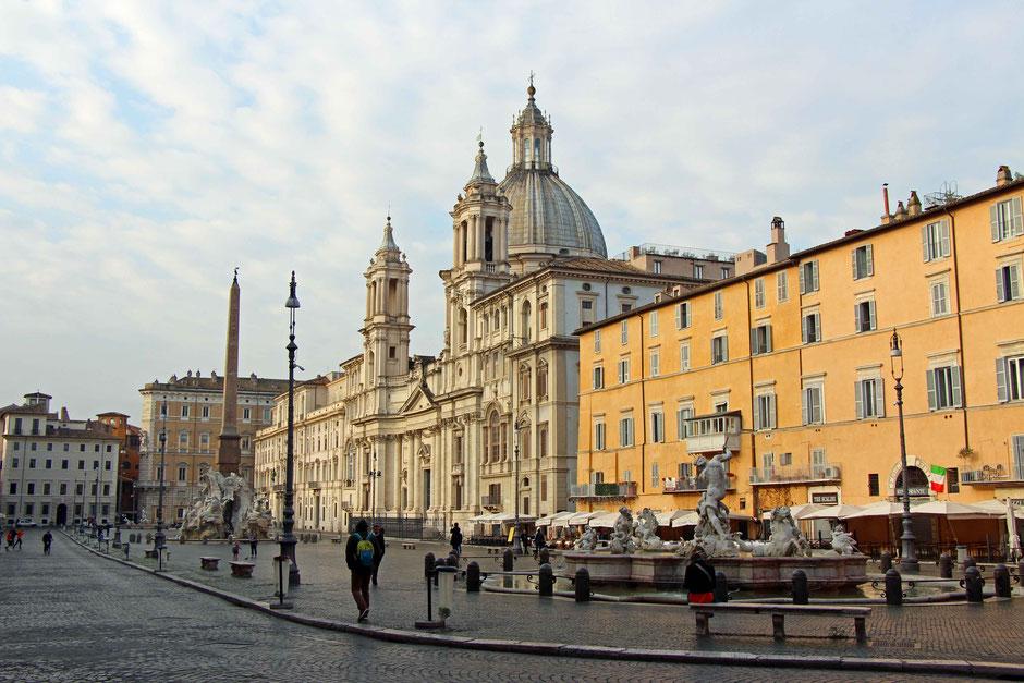 Piazza Navona Rome Family Travel