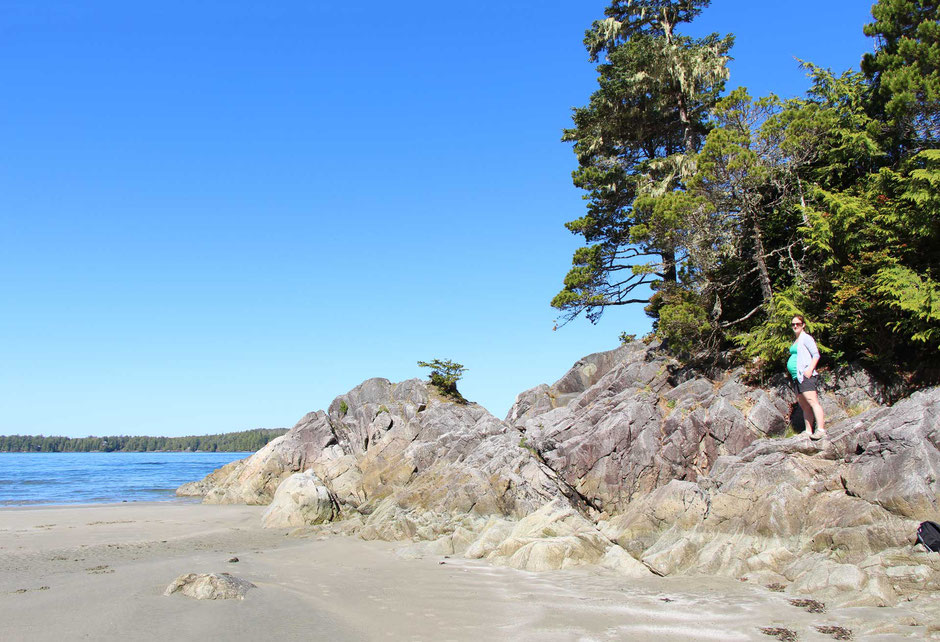 Travelling while pregnant in Tofino BC