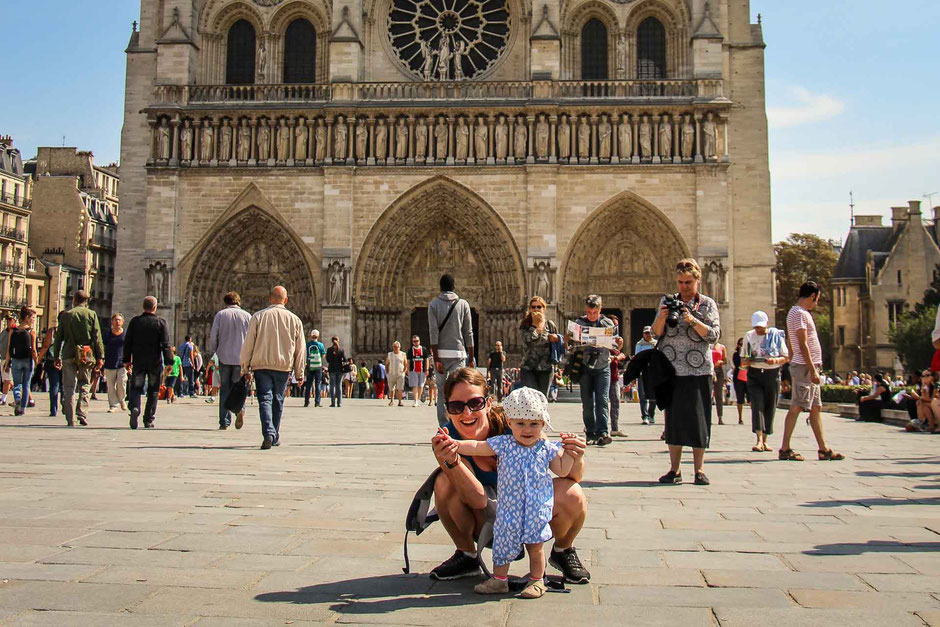 Paris with a toddler or baby