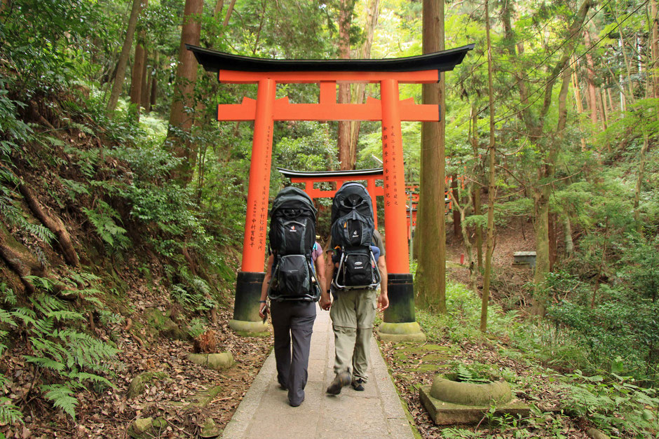Hiking Japan with baby and toddler