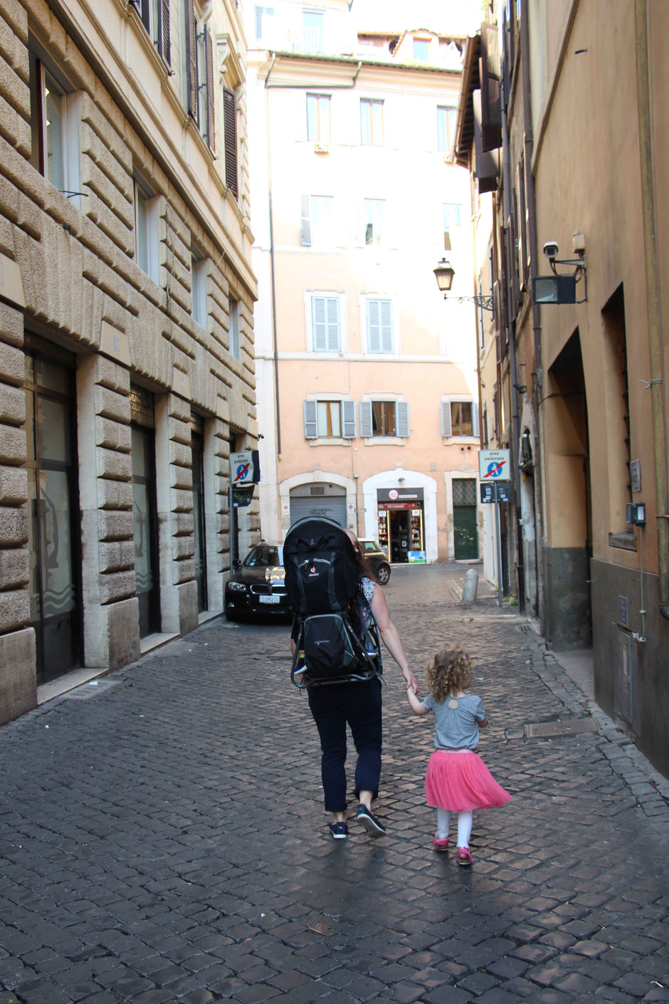 Rome Italy with a baby or toddler