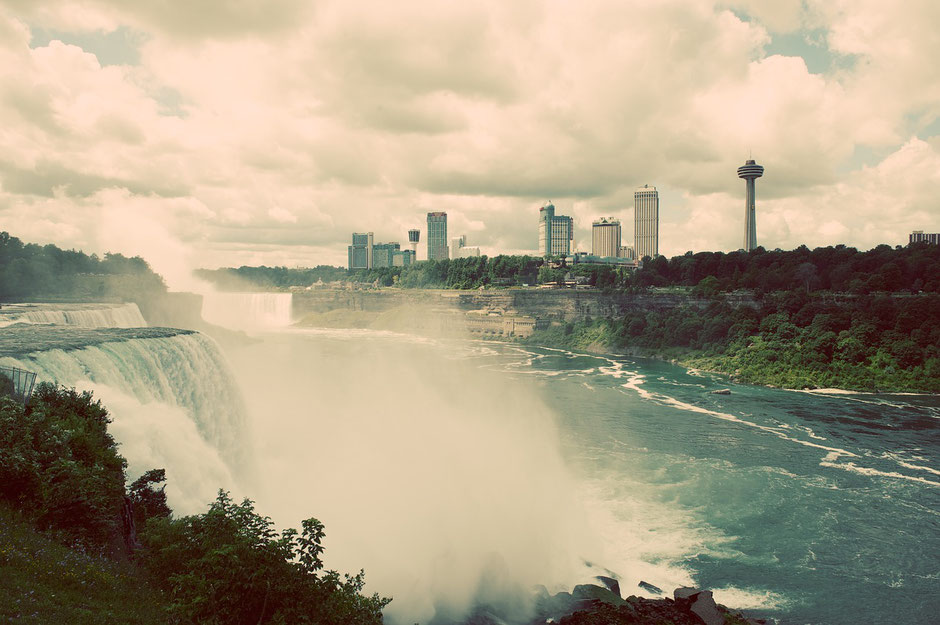 Niagara Falls with a Baby