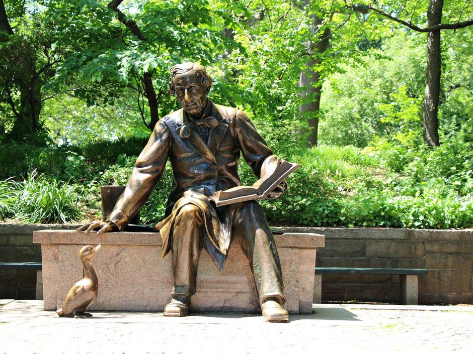 Hans Statue Central park NYC