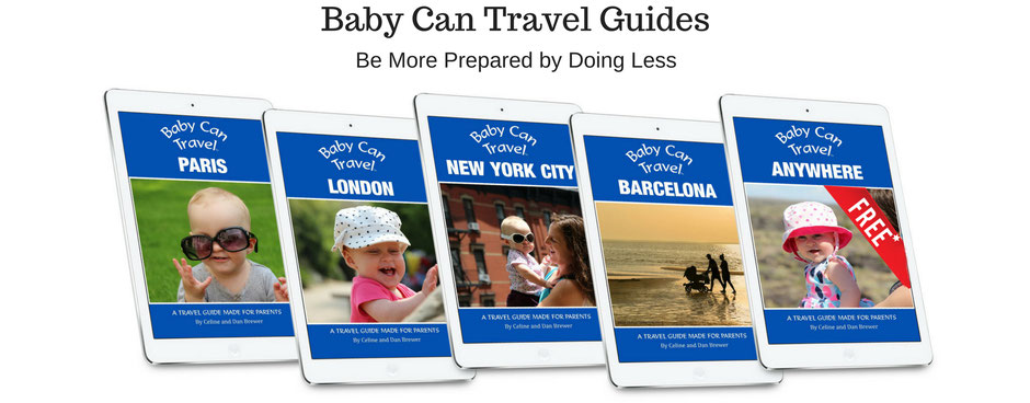 A guide to travelling with a baby