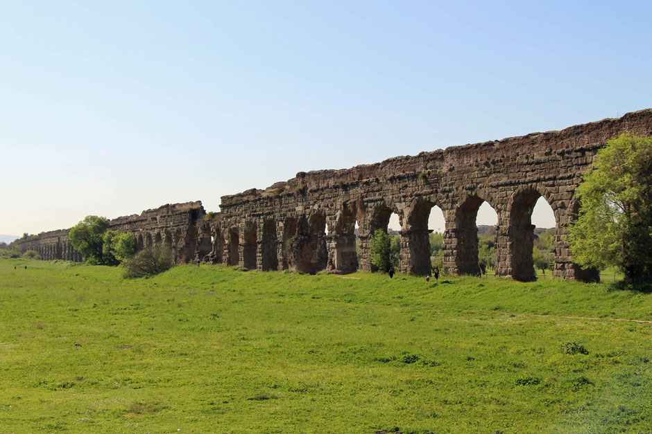 Aqueduct Park Rome Italy With a baby or toddler
