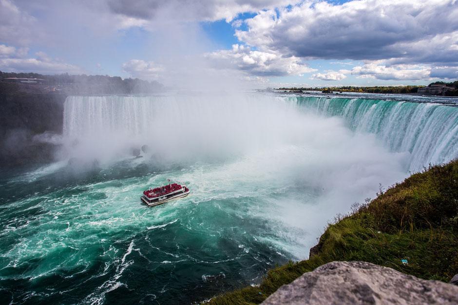 Niagara Falls Canada with a baby