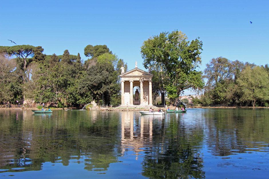 Villa Borghese Gardens Rome Family Travel
