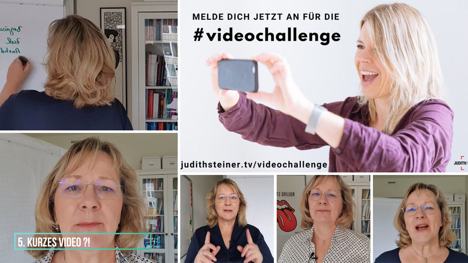 Selbstgesteuert; Lernen; User generated Content; Videoproduktion; Videochallenge; #Mutanfall;Sabine Reimers; Lernreise;Lernkurve