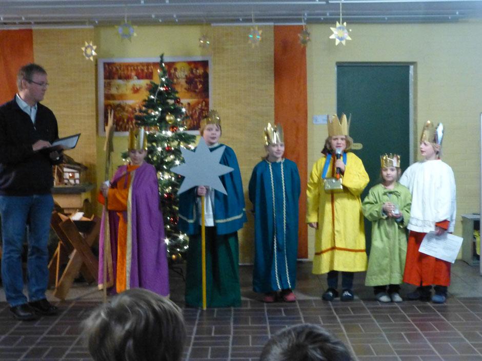 Heilige drei Könige 2016 Niels-Stensen Grundschule Hameln