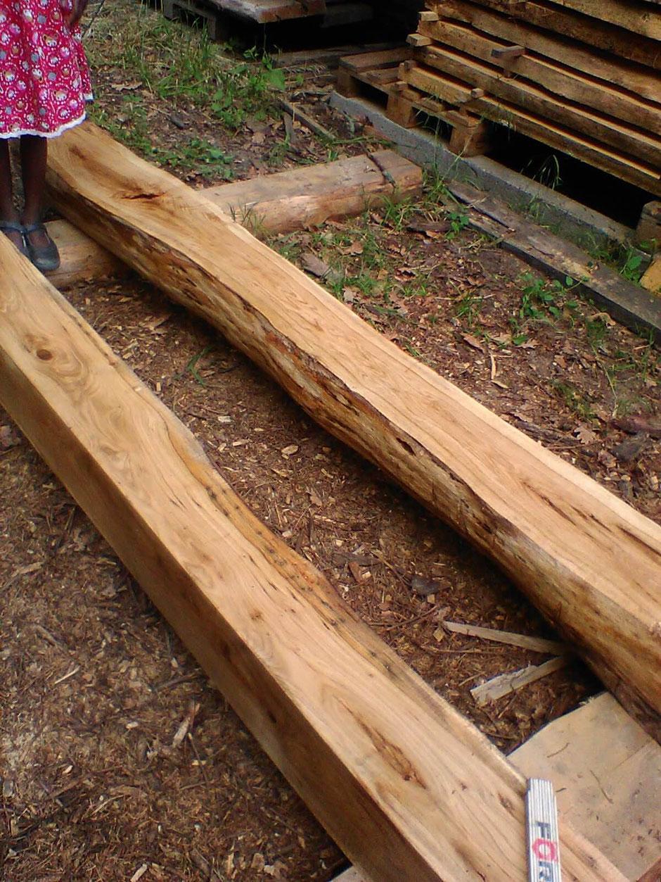 Balken aus Eiche 24cm x 24 cm in 3m Länge