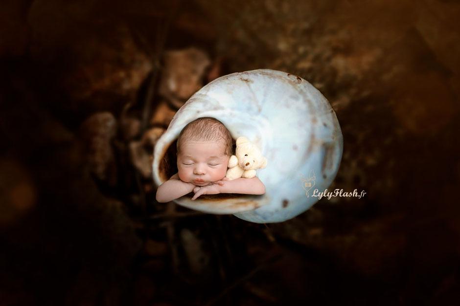 photographe naissance créative et originale