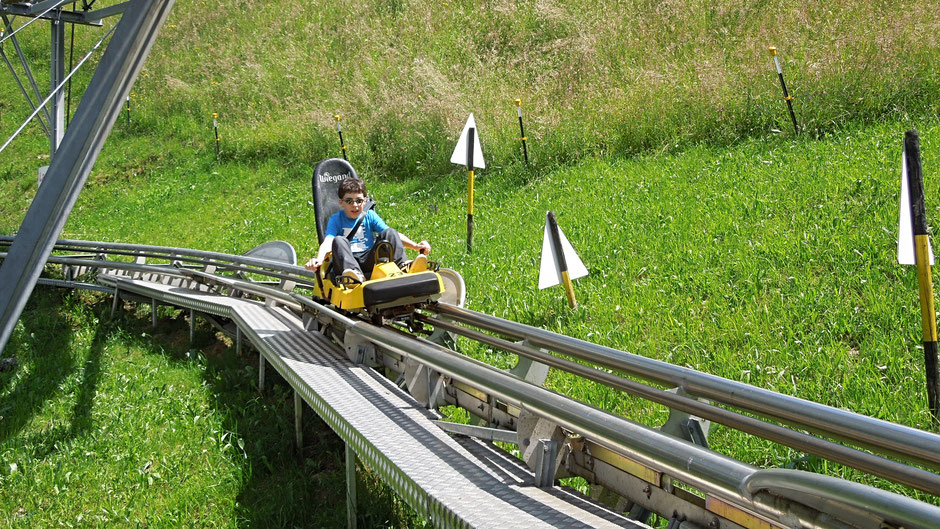 Alpen Achterbahn in Zell am Ziller im Zillertal in Tirol