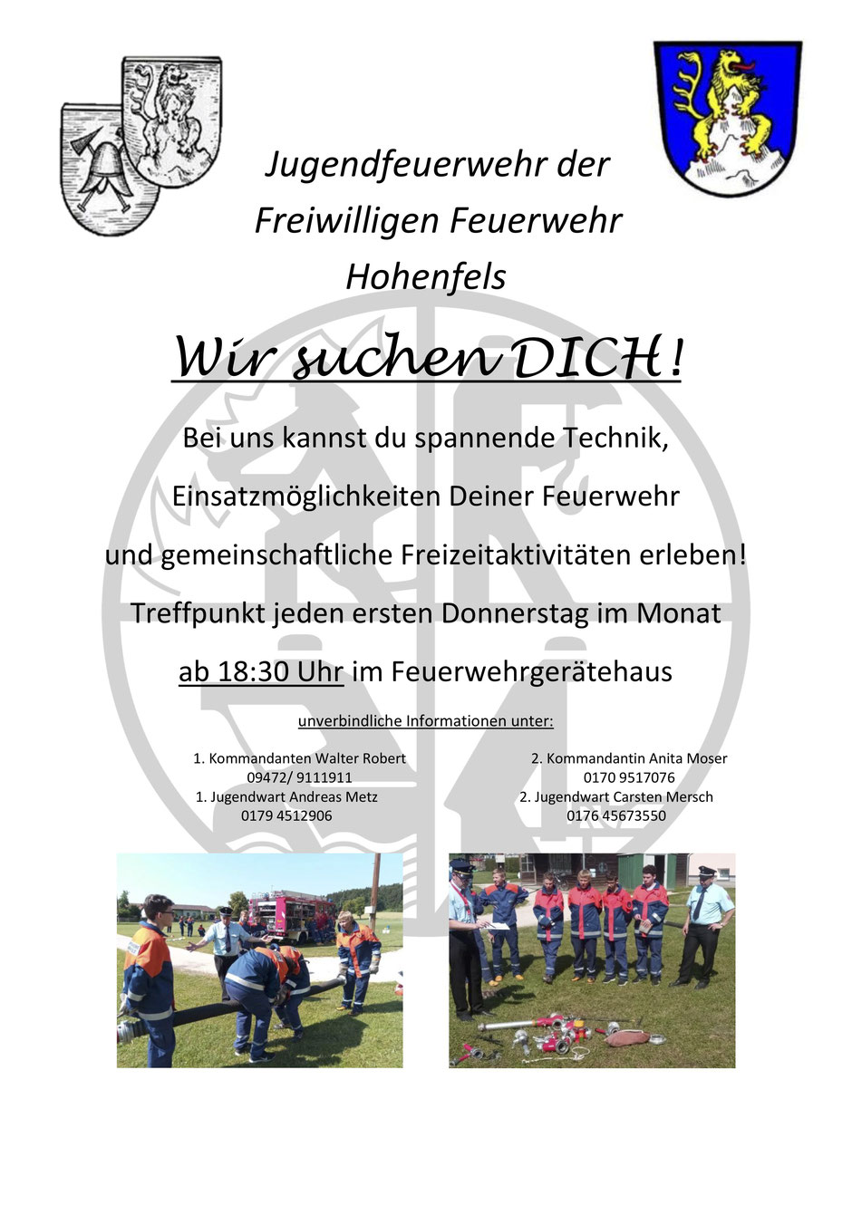 FFW Hohenfels sucht dich