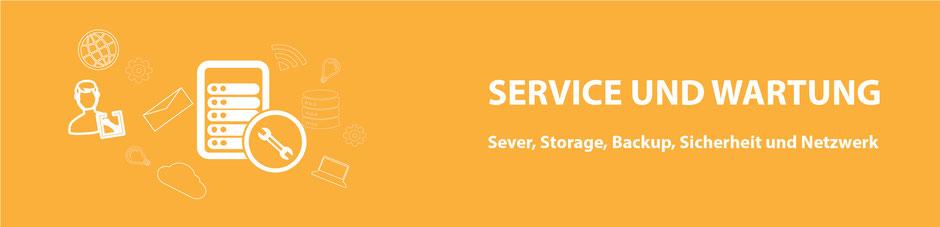 Service und Wartung Server Storage Backup Sicherheit und Netzwerk