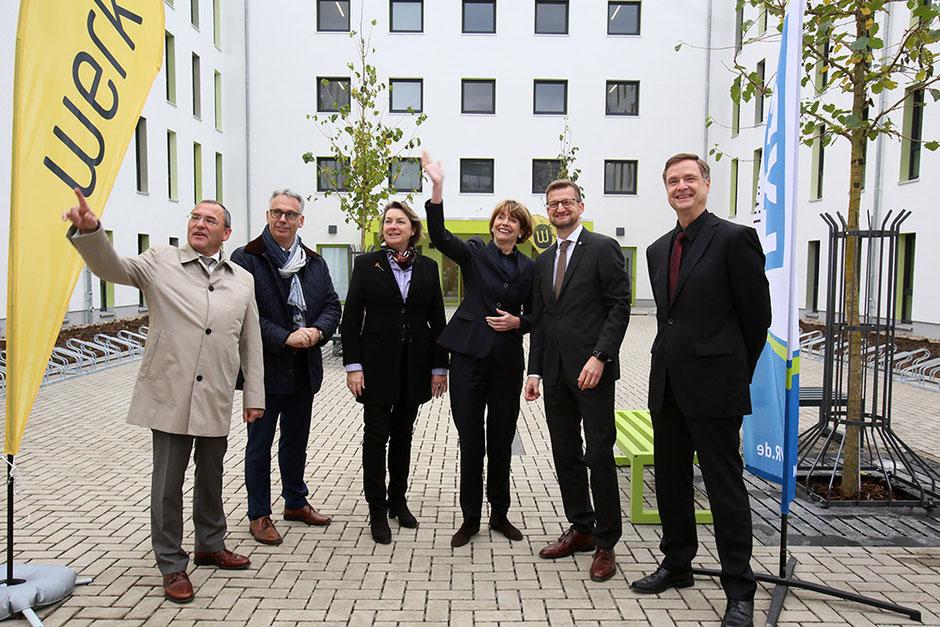 Einweihung Studierendenwohnheim an der Gebrüder-Coblenz-Straße in Köln