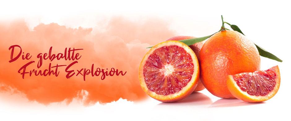 Saunamittel mit natürlicher Orange und Grapefruit von Odoro Essenzen.
