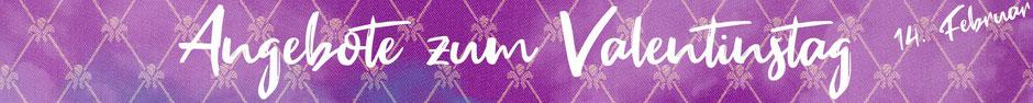 Angebote zum Valentinstag im Saunaaufguss Onlineshop von Odoro Essenzen.