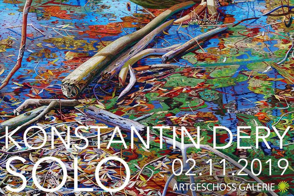 Soloausstellung Konstantin Dery am 02.11 - 31.12.2019