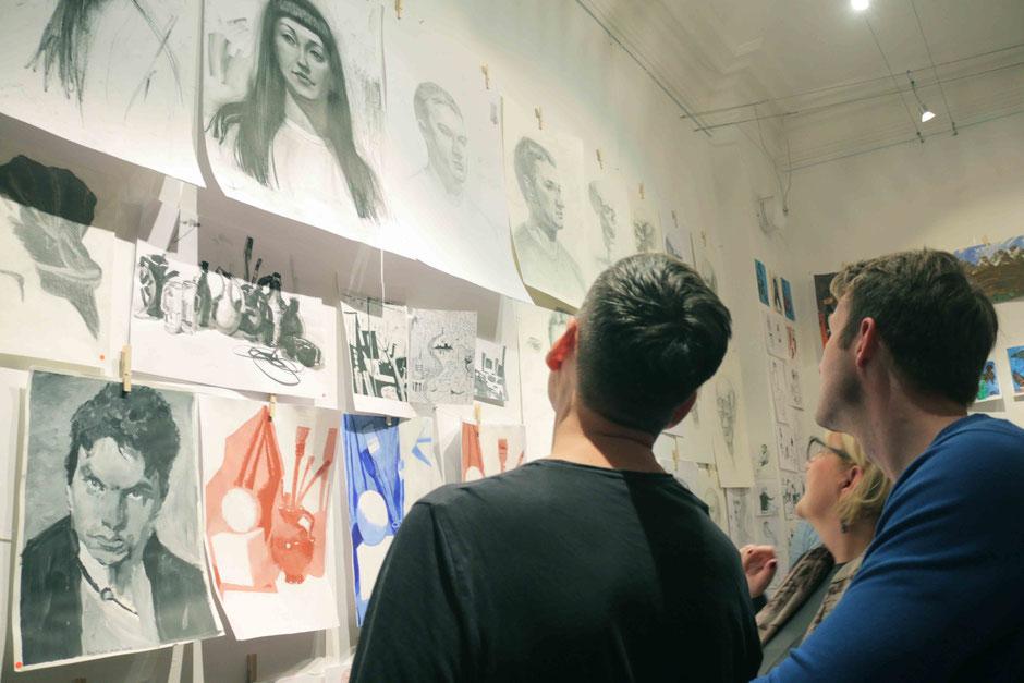 Kunstschule Artgeschoss Rundgang 2019