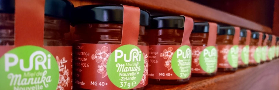 Miel de Manuka Puri 37g, en ligne