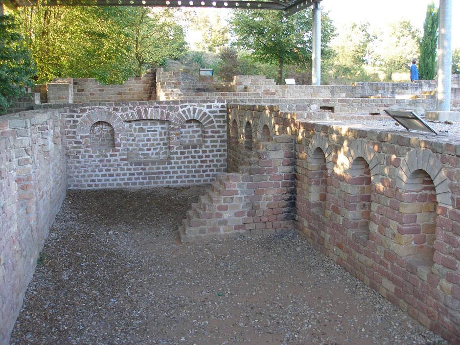 Der größte Keller entlang des Rheins: Villa rustica Wachenheim