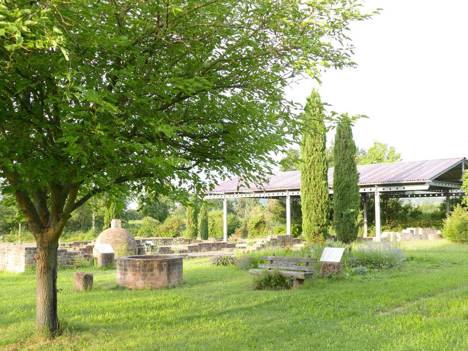 Freilichtmuseum, Parkanlage und Refugium für Ruhesuchende: das Gelände der Villa rustica Wachenheim