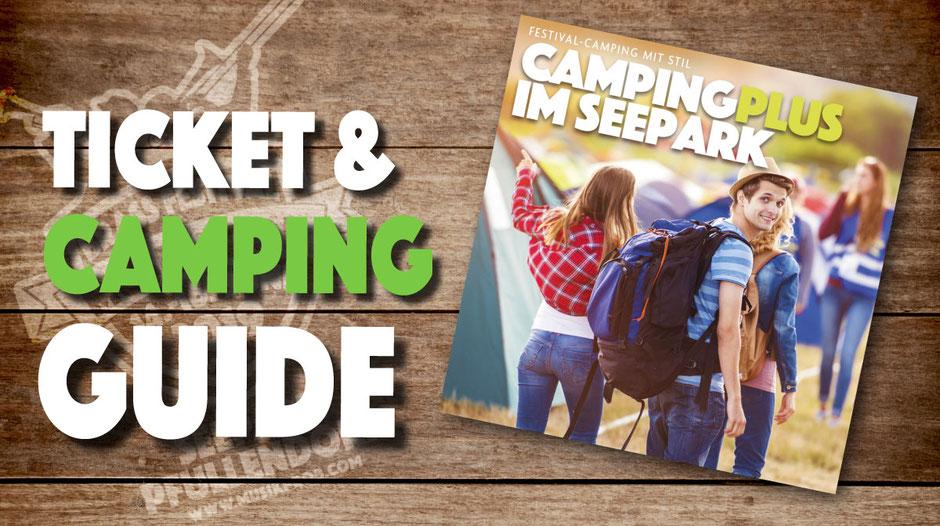 Ticket und Camping Guide Musikprob Brass-Festival 2019