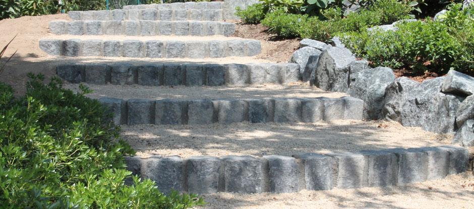 Treppen aus Naturstein