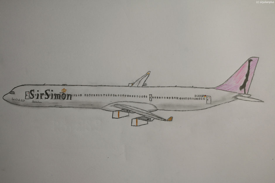 "Airbus Planedrawing ""Plane Drawing"" RoyalSirPlus RSP RoyalSP ""Royal SP"" ""Aviation Alliance"" ""Aviation Community"" ""Aviation and Lifestyle"" ""Aviation & Lifestyle"" SirSimon ""Sir Simon"" Simon ""Sir Simon"" ""CEO Simon"" ""CEO SirSimon"" A340 A343 A340300"