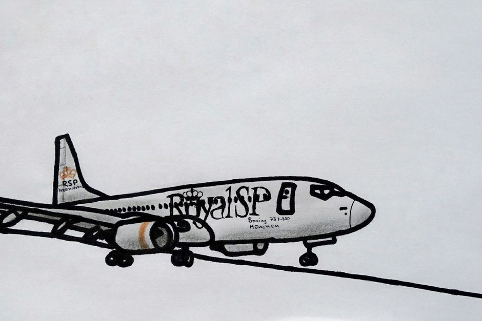 "Boeing Planedrawing ""Plane Drawing""  B737 737 RoyalSirPlus RSP RoyalSP ""Aviation Alliance"" ""Aviation Community"" ""Aviation and Lifestyle"" ""Aviation & Lifestyle"" ""Virtual Airline"""