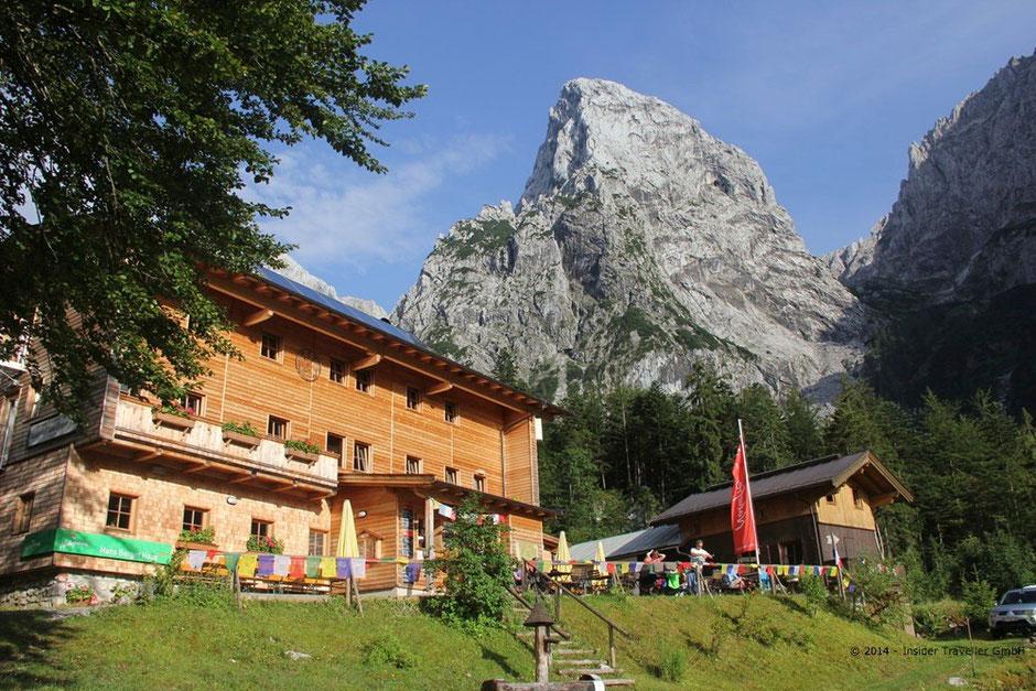 Bild: Hans-Berger-Haus im Kaisertal