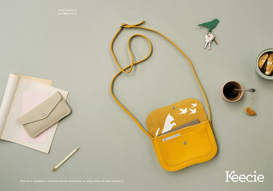 Book design and Art direction by Marijke Lucas - Lucas & Lucas for Dutch bags and accessories label Keecie - COVER