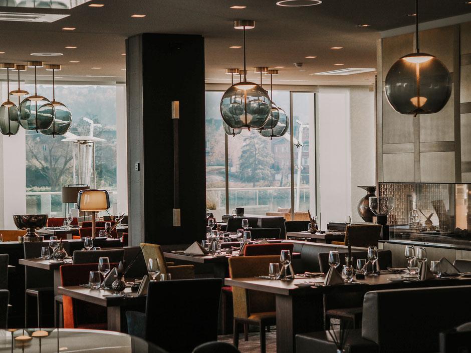 """Schlichte maritime Eleganz im Restaurant """"Landgang"""""""