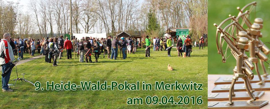 9. Heide-Wald-Pokal am 09.04.2016 in Merkwitz bei Luth. Wittenberg