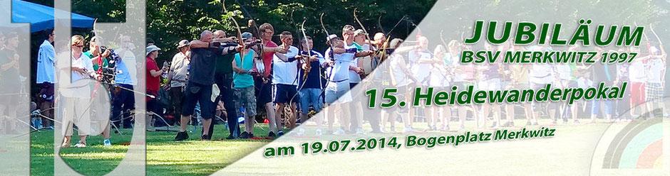 15. Heidewanderpokal am 19.07.2014 in Merkwitz