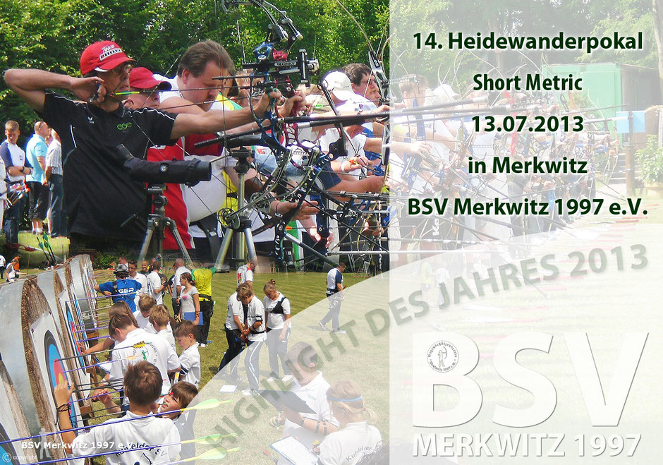 14. Heidewanderpokal in Merkwitz am 13.07.2013