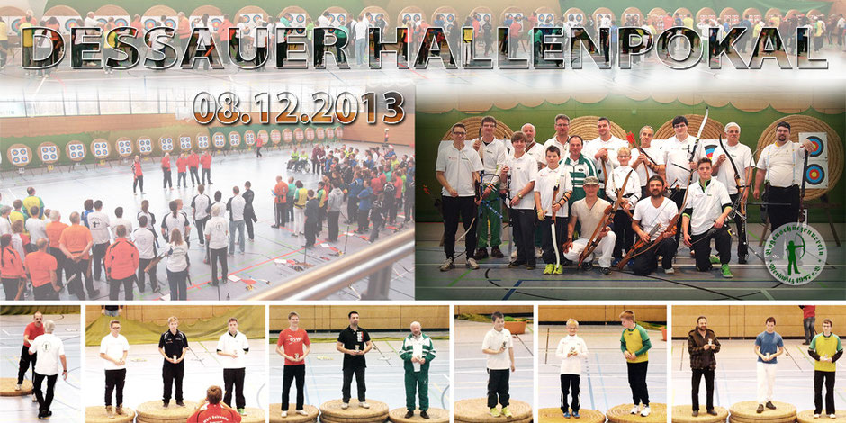 Dessauer Hallen-Turnier FITA am 08.12.2013