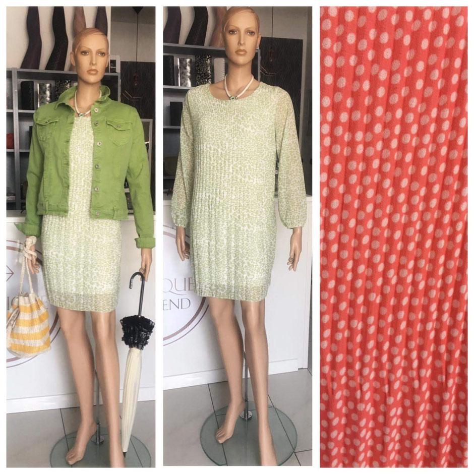 Jeansjacke grün Gr. 38 69.90€ - Kleid mint oder lachs 79.90€ - Schirm 39.90€ Tasche 19.90€