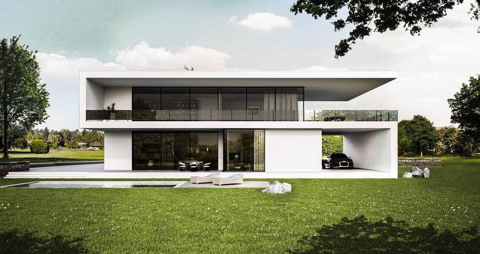 Moderne Villa, Bauhausstil